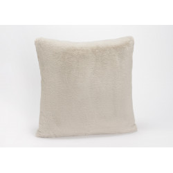 Coussin gris clair luxe...