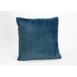 Coussin bleu nuit luxe...