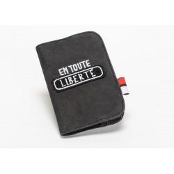 Protège-passeport en coton...