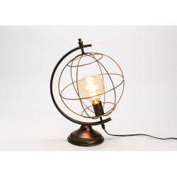 Lampe de table en métal...