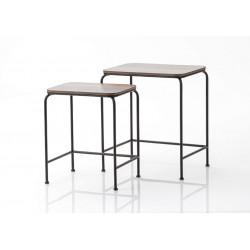 Set de 2 tables basses Atelier