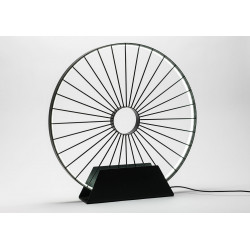 Lampe de table led roue de...