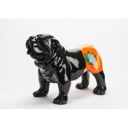 Statue bulldog bryan 45 cm