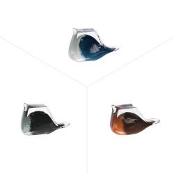Oiseau décoratif en verre...