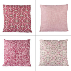 Coussin rubis 45x45 cm (1...