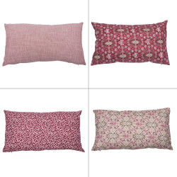 Coussin rubis 30x50 cm (1...