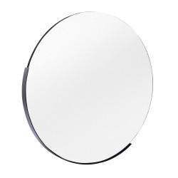 Miroir rond 61 cm Noir