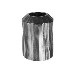 Vase en métal argenté...