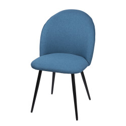 Chaise beetle bleu