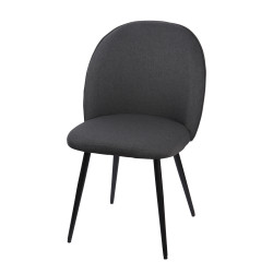 Chaise beetle anthracite