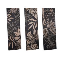Triptyque en bois 120 x 40 cm