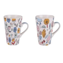 Coffret 2 mugs 46 cl wally...