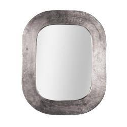 Miroir en métal argenté...