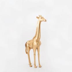 Girafe dorée brillante