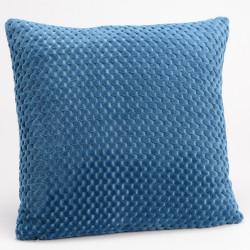 Coussin Damier bleu nuit