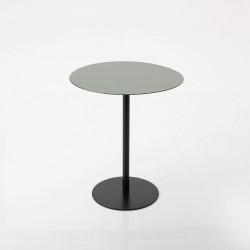 Table émail verte hauteur...