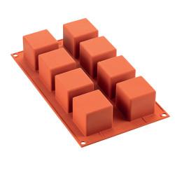 Moule en silicone 8 cubes 5...