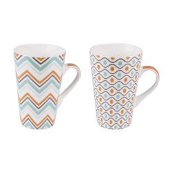 Coffret 2 mugs 46 cl Funky