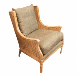 Fauteuil Christie cannage...