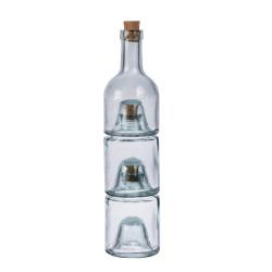 Set 3 bouteilles tower 33cm...