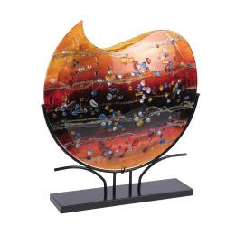 Vase vague fusion 50x48 cm