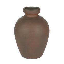 Vase syracuse 18x25 cm ocre