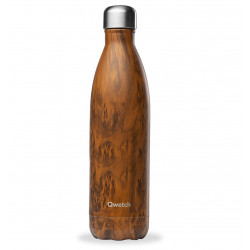 Bouteille isotherme wood 750ml