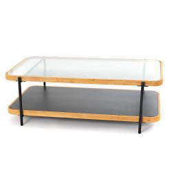 Table basse rectangle Léon...