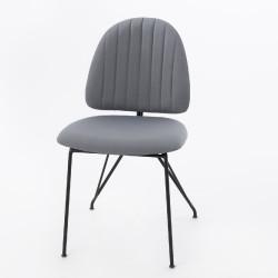 Chaise grise Stockholm (lot...