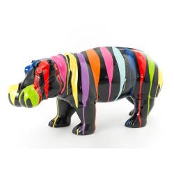 Hippopotame Trash noir et...