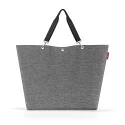 Sac shopping Twist Silver XL