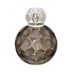 Lampe Sphère marron fumé