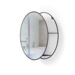 Miroir & rangement Cirko noir