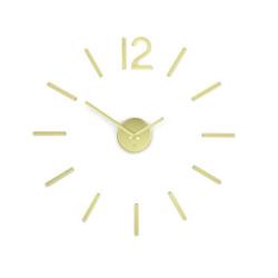Horloge murale en métal...