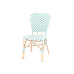Chaise de bistrot Vert