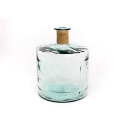 Vase Frances rafia naturel