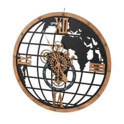 Horloge Monde 80cm