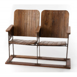 Double chaises de cinéma en...