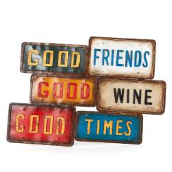 Plaques en métal Good Times...