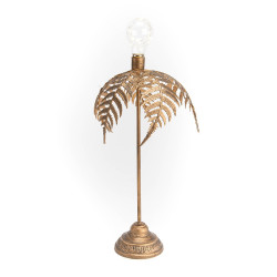 Lampe de table Palmier à piles