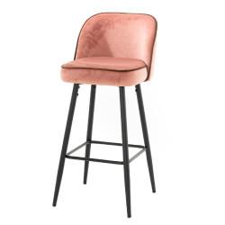 Chaise haute Petra rose