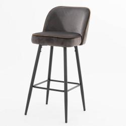 Chaise haute Petra gris