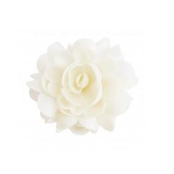 Fleur azyme Blanche 10cm