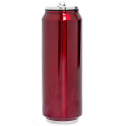 Canette isotherme rouge 700 ml