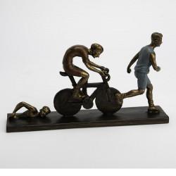 Décoration triathlon 37 cm...