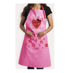 Tablier taille adulte rose...