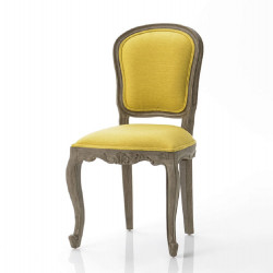 Chaise John jaune (lot de 2)