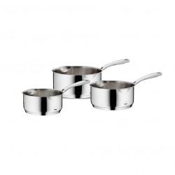 Set 3 casseroles inox