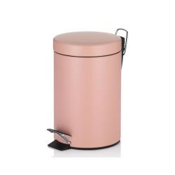 Poubelle Monaco rose perlé