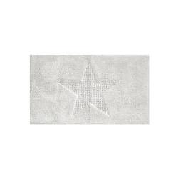 Tapis de bain Lindano blanc
